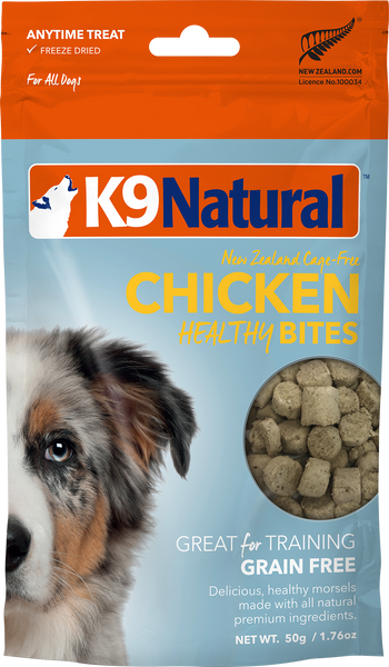 K9Natural New Zealand Cage-Free Chicken Healthy Bites