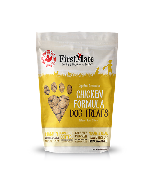 FirstMate Cage Free Chicken & Blueberries Grain-Free Cookies
