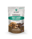 Pet Releaf Hemp Health Edibites Organic Grain-Free Peanut Butter & Carob Swirl Soft Chew Supplements