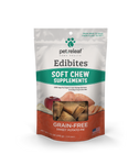 Pet Releaf Health Edibites Organic Grain-Free Sweet Potato Pie Soft Chew Supplements