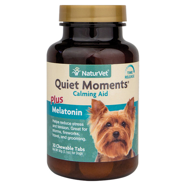 NaturVet Quiet Moments Calming Aid Tablets