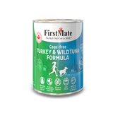 FirstMate 50/50 Cage-Free Turkey and Wild Tuna Formula