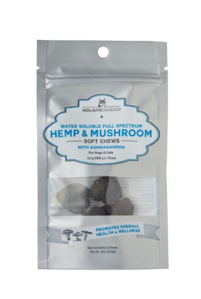 Holistic Hound Full Spectrum Hemp & Mushroom Soft Chews with CBD