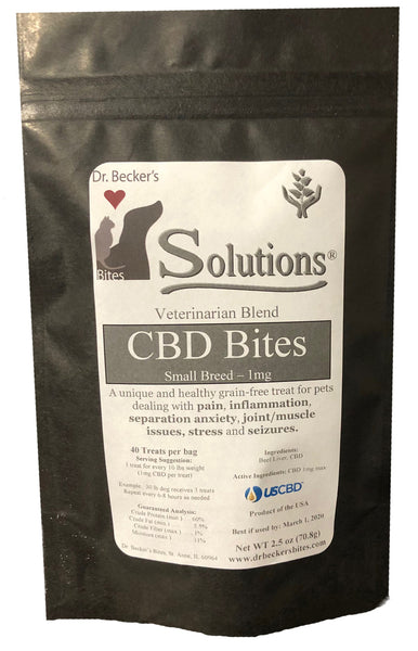 Dr. Becker's Solutions Veterinarian Blend CBD Bites