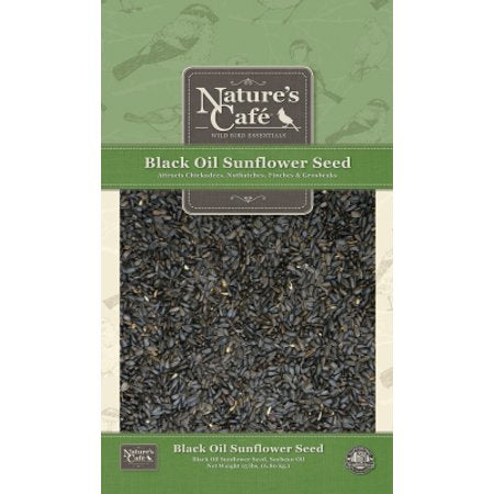 Nature's Cafe Wild Bird Essentials Black Oil Sunflower Seed