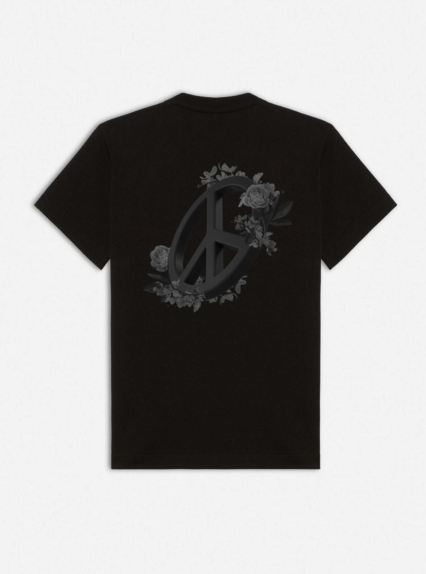 PEACE TSHIRT -  BLACK - SOLD OUT - blupstore