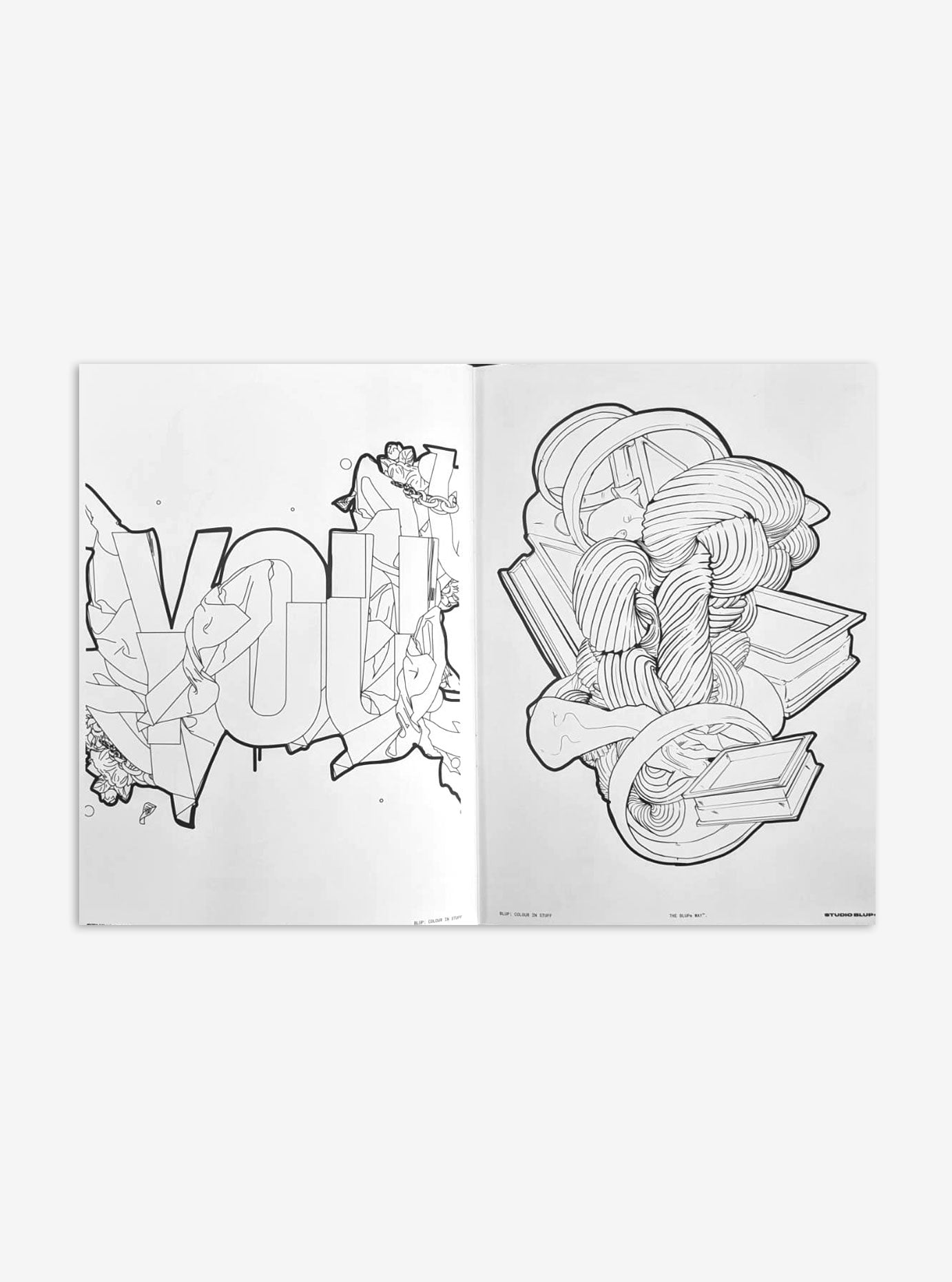 BLUP® COLOURING BOOK (24 Pages) - blupstore