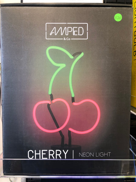 AMPED Neon Sign - Cherries