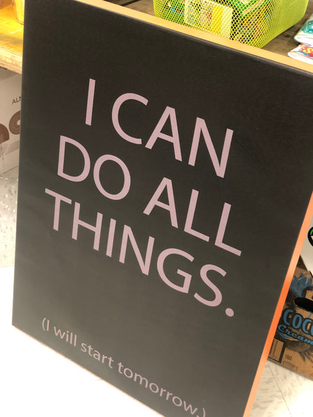 Stretched Canvas Wall Art - I Can Do All Things