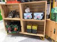 Crate Display Shelving Units