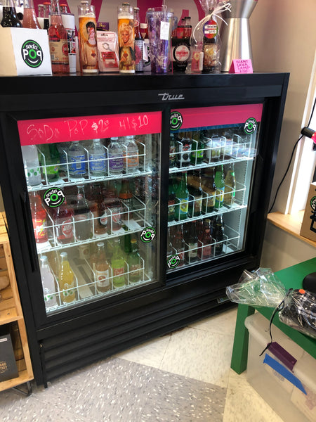 "True 48""H Beverage Merchandiser"