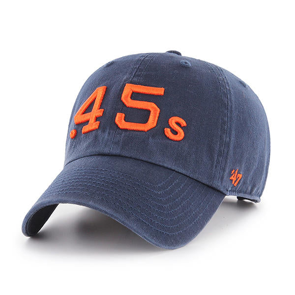 Houston Astros 47 Brand Vintage .45's Clean Up Hat - Navy
