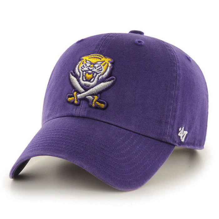 LSU Tigers 47 Brand Bengals & Bandits Clean Up Adjustable Hat - Purple