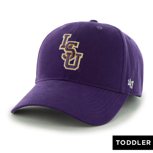 LSU Tigers 47 Brand Interlock MVP Structured Toddler Hat - Purple