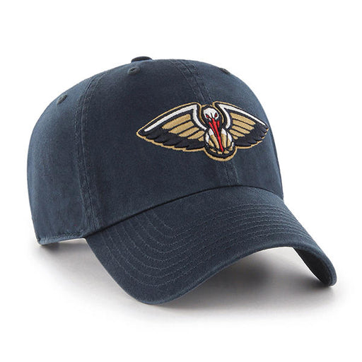 New Orleans Pelicans 47 Brand Clean Up Adjustable Hat - Navy