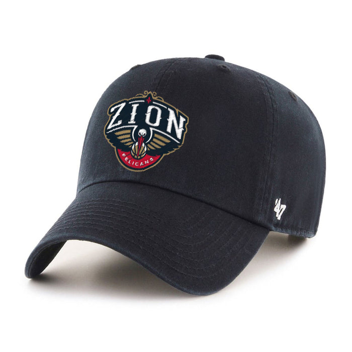 New Orleans Pelicans 47 Brand Zion Williamson NBA Basketball Clean Up Hat - Navy