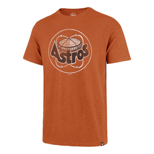 Houston Astros 47 Brand Baseball Vintage Dome Scrum T-Shirt - Orange