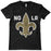 B&B Dry Goods Homegrown Louisiana NOLA Fleur de Lis Toddler / Youth T-Shirt - Black
