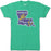 B&B Dry Goods Homegrown Louisiana Mardi Gras Bayou Outline T-Shirt - Green