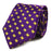 B&B Dry Goods Texas Outline Woven Necktie - Purple