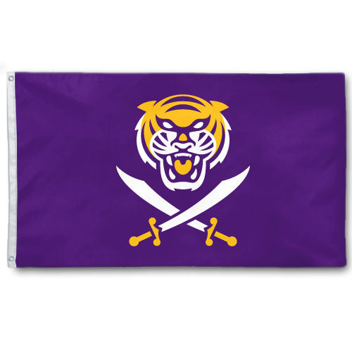 Bengals & Bandits 3' x 5' Flag - Purple