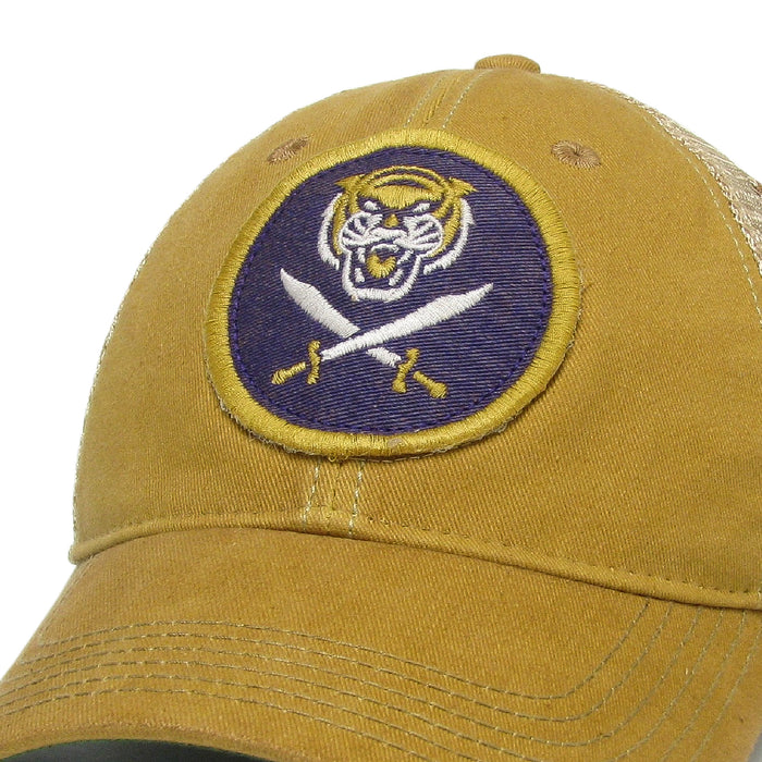 Bengals & Bandits Relaxed OFA Trucker Hat - Yellow