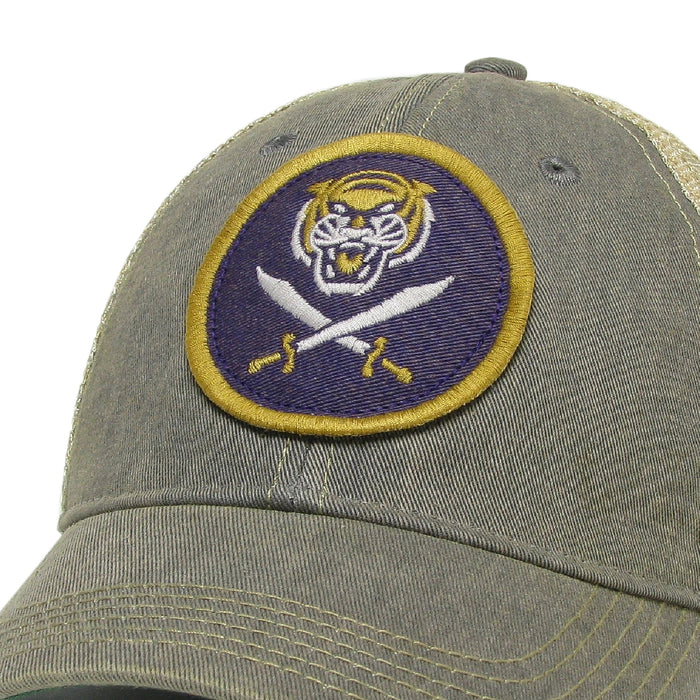 Bengals & Bandits Relaxed OFA Trucker Hat - Grey