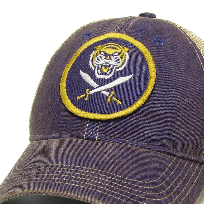 Bengals & Bandits Relaxed OFA Youth Trucker Hat - Purple