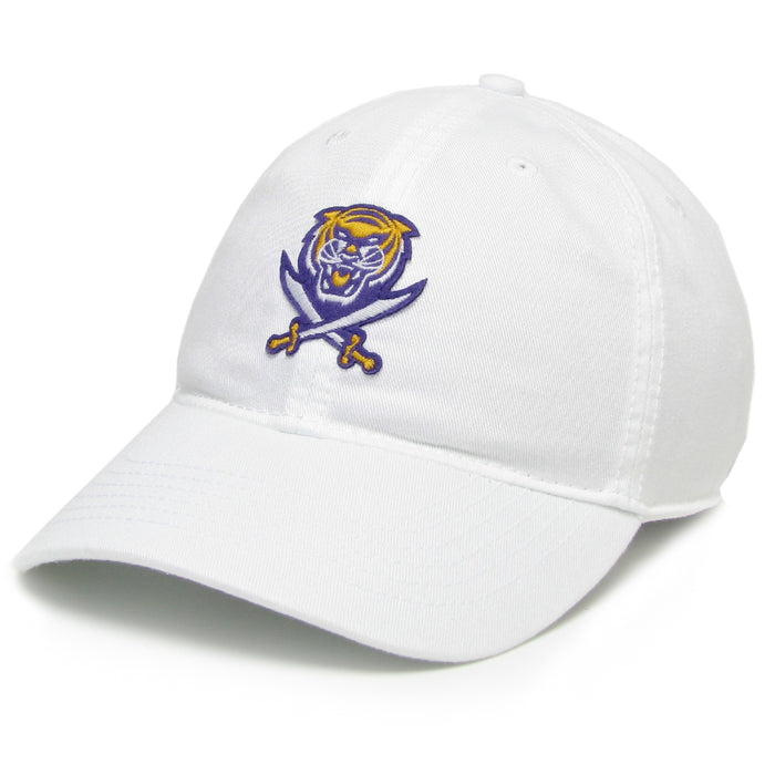 Bengals & Bandits Relaxed Twill Hat - White