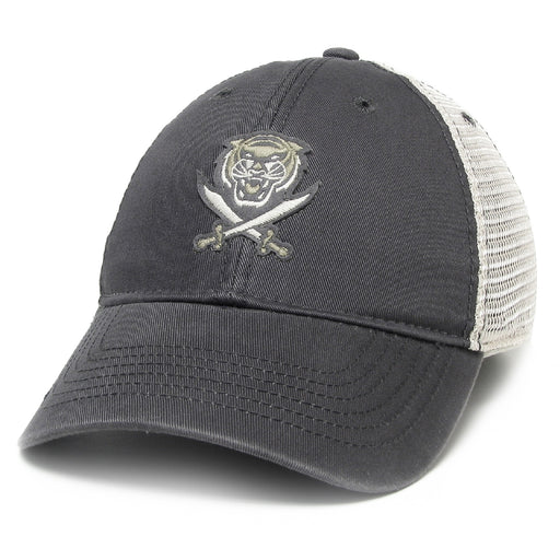 Bengals & Bandits Relaxed Twill Trucker Hat - Dark Grey