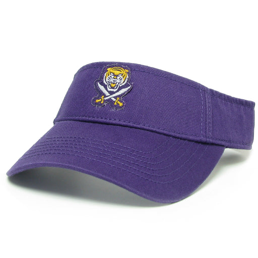 Bengals & Bandits Relaxed Twill Visor - Purple