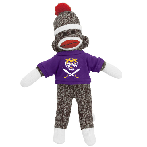 "Bengals & Bandits Plush 8"" Sock Monkey Stuffed Animal"