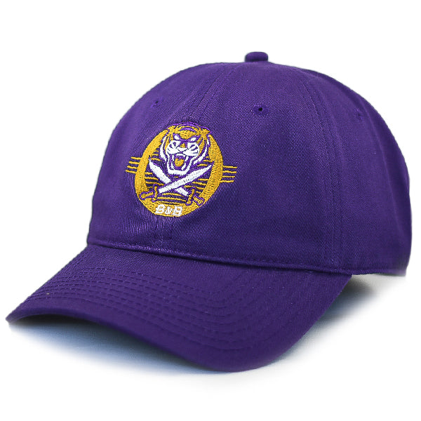 Bengals & Bandits The Game Retro Circle Adjustable Strap Hat - Purple