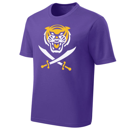 Bengals & Bandits Performance Mesh Kids T-Shirt - Purple