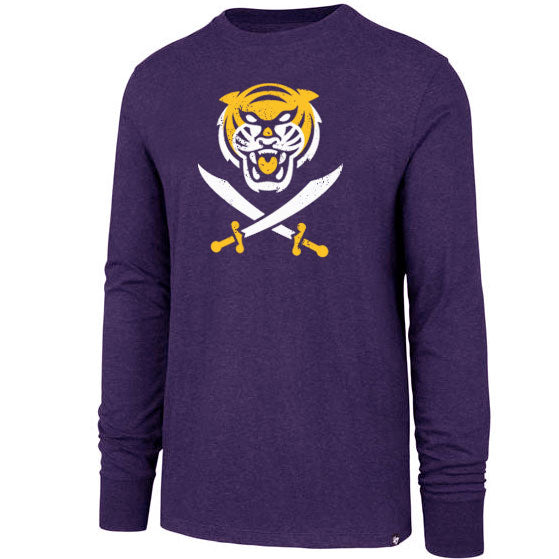 Bengals & Bandits 47 Brand Club Long Sleeve T-Shirt - Purple