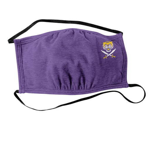 Bengals & Bandits Mini B&B Resuable Face Mask With Head Straps - Purple