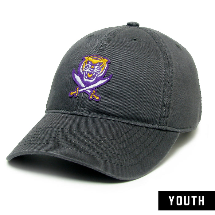Bengals & Bandits Legacy Relaxed Twill Youth Hat - Grey