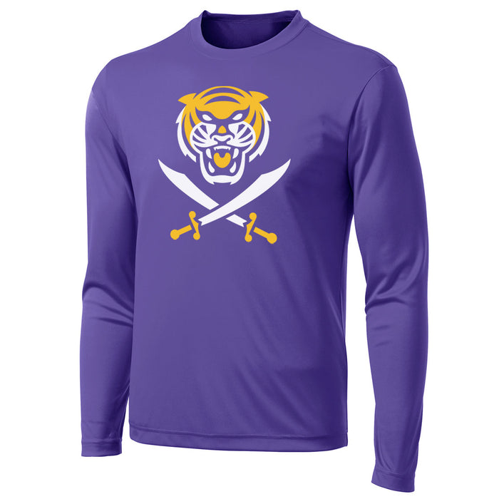 Bengals & Bandits Performance Long Sleeve T-Shirt - Purple