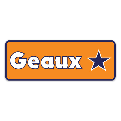 B&B Dry Goods Homegrown Geaux Streauxs Decal