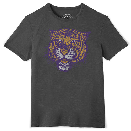 B&B Dry Goods LSU Tigers 78 Tiger Slub T-Shirt - Black