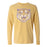 B&B Dry Goods LSU Tigers 84 Tiger Garment Dyed Long Sleeve T-Shirt - Mustard
