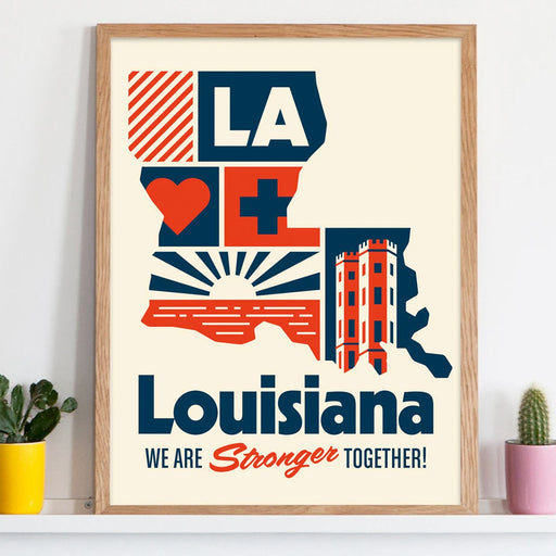 "B&B x Tim's Garage - Louisiana Shift Support 16""x20"" Poster"