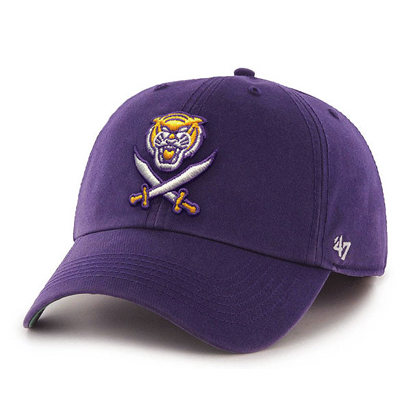 LSU Tigers 47 Brand Bengals & Bandits Franchise Fitted Hat - Purple