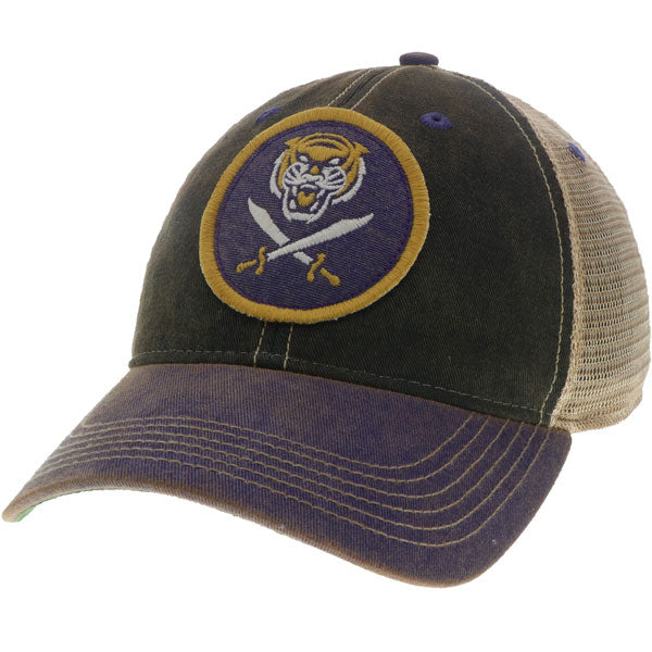 Bengals & Bandits Relaxed OFA Trucker Hat - Black / Purple