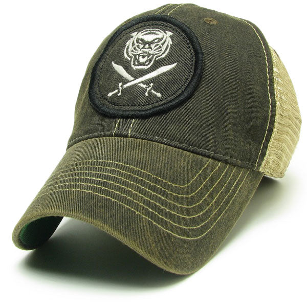 Bengals & Bandits Relaxed OFA Trucker Hat - Black
