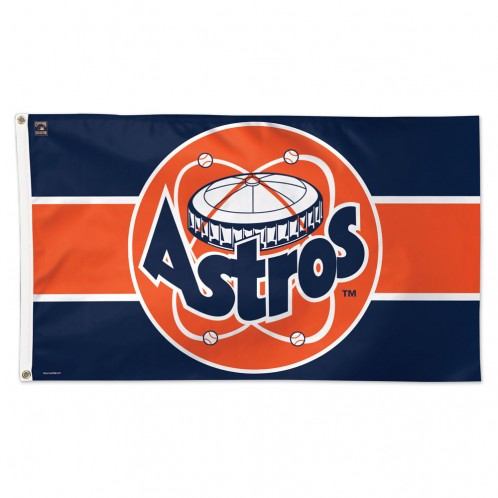 Houston Astros Cooperstown Retro Astrodome Deluxe 3' x 5' Printed Flag