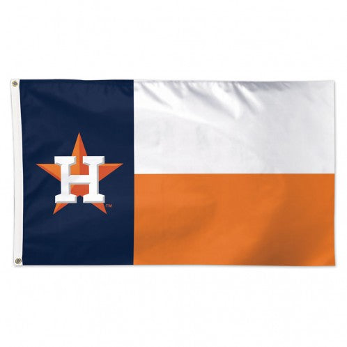 Houston Astros Texas State Flag Deluxe 3' x 5' Printed Flag