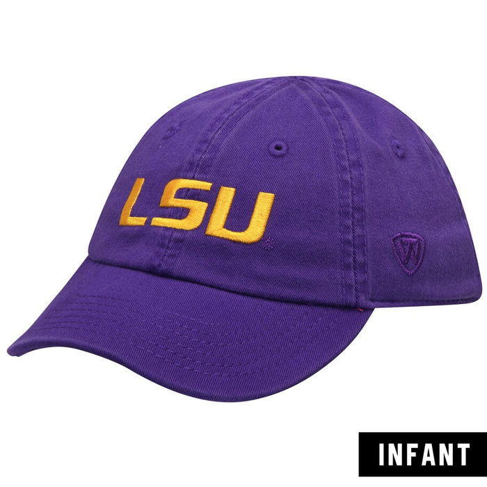 LSU Tigers Top Of The World Mini Me Infant Stretch Fit Hat - Purple