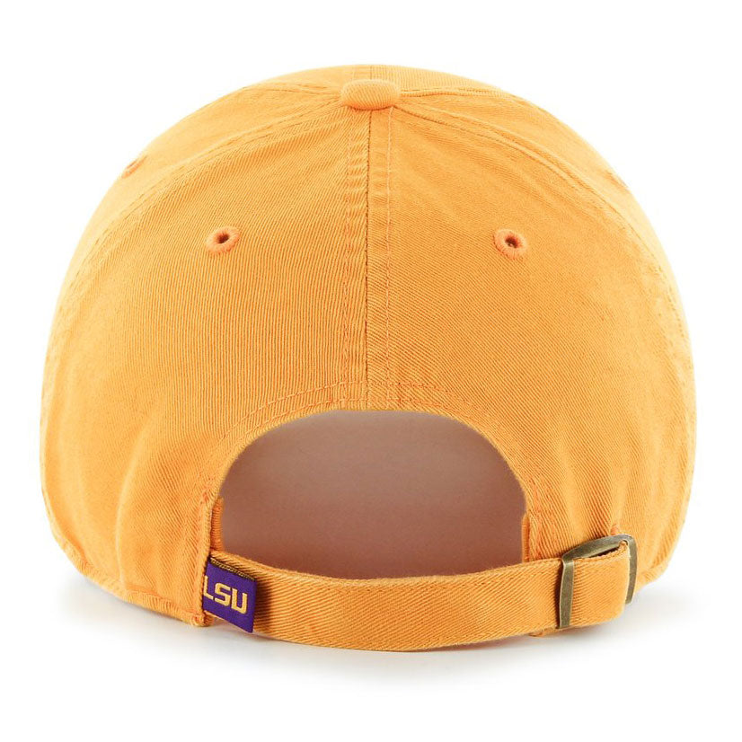 reputable site e694d 12673 ... discount lsu tigers 47 brand interlock clean up adjustable hat gold  u2014 bengals bandits 53363 7b4f0