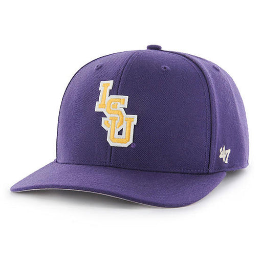 LSU Tigers 47 Brand Interlock 47 MVP Adjustable Hat - Purple